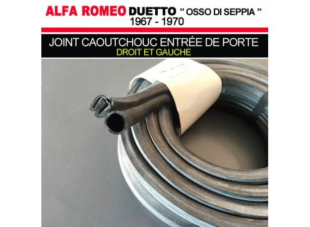 joint caoutchouc pour entr e de porte droit et gauche pour cabriolets alfa romeo duetto 1600 1750. Black Bedroom Furniture Sets. Home Design Ideas