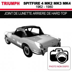 Joint de lunette arrière de hard top pour les cabriolets Triumph Spitfire