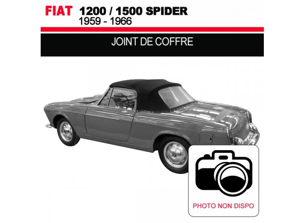 joint de coffre pour les cabriolets fiat 1200 1500. Black Bedroom Furniture Sets. Home Design Ideas