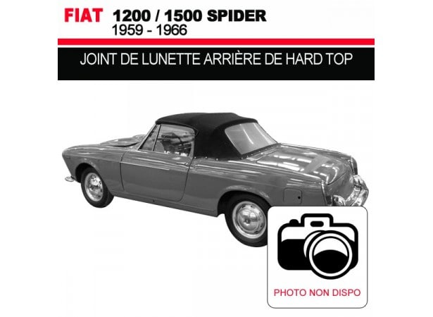 joint de lunette arri re de hard top pour les cabriolets fiat 1200 1500. Black Bedroom Furniture Sets. Home Design Ideas