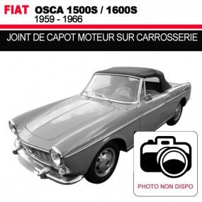 Joint de capot moteur sur carrosserie pour les cabriolets Fiat Osca 1500S/1600S