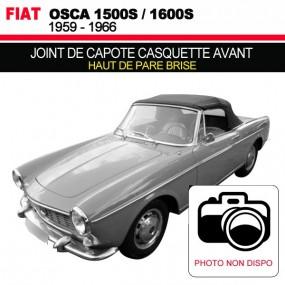 Joint de capote casquette avant pour les cabriolets Fiat Osca 1500S/1600S