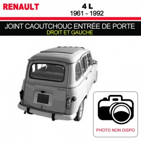 joints sur mesure cabriolet renault 4l comptoir du cabriolet. Black Bedroom Furniture Sets. Home Design Ideas