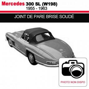Joint de pare-brise soudé pour les cabriolets Mercedes 300 SL