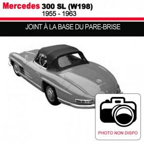 Joint à la base du pare-brise pour les cabriolets Mercedes 300 SL