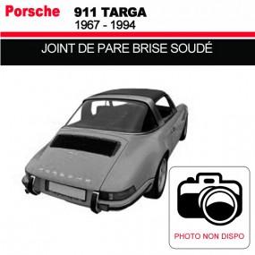 Joint de pare-brise soudé pour les cabriolets Porsche 911 Targa