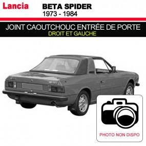 Joint caoutchouc d'entrée de porte pour les cabriolets Lancia Beta Spider