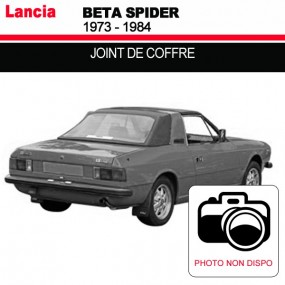 Joint de coffre pour les cabriolets Lancia Beta Spider