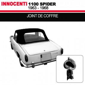 Joint de coffre pour les cabriolets Innocenti 1100 Spider