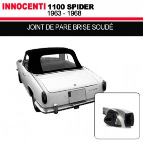 Joint de pare brise pour les cabriolets Innocenti 1100 Spider