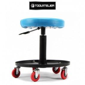Tabouret d'atelier réglable avec bac de rangement - ToolAtelier