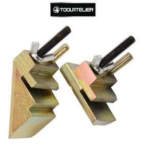 Kit 2 guides universels pour pose/dépose courroies élastiques - ToolAtelier