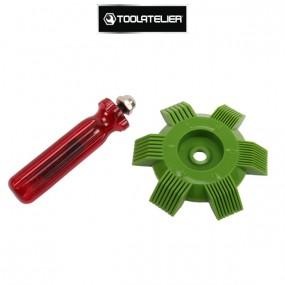Peigne de réparation de grilles de radiateurs - ToolAtelier