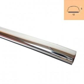 Moulure chromée 12mm X 5mm adhésive