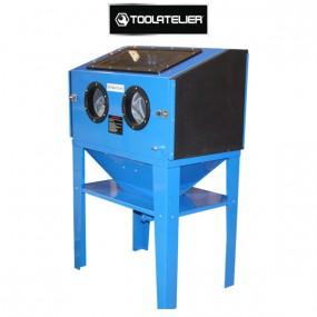 Cabine de sablage à manchons 220l double porte - ToolAtelier