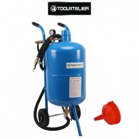 Sableuse mobile 38l à pression (avec accessoires) - ToolAtelier