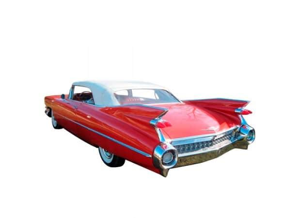 Capote Cadillac Deville cabriolet en vinyle