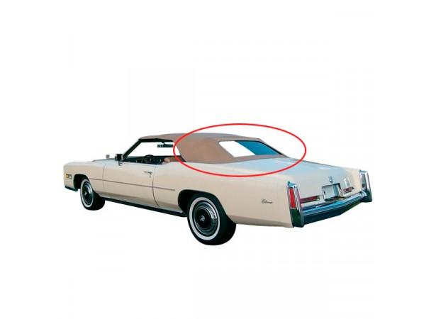 Lunette arrière capote de Cadillac Eldorado cabriolet