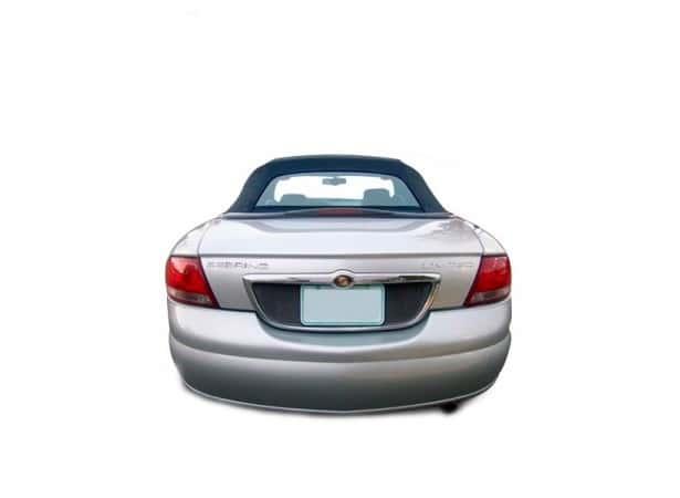 Lunette arrière en verre pour capote de Chrysler Sebring cabriolet en Vinyle GA