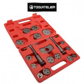 Repousse piston d'étriers de freins arrières (Coffret 18 pièces) ToolAtelier®