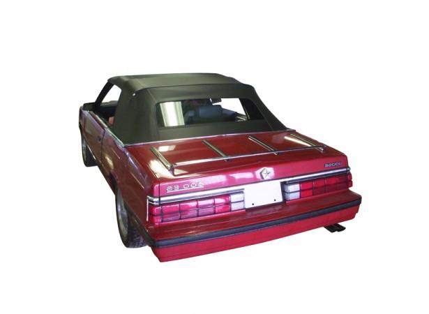 Capote auto Dodge 600/600ES cabriolet en vinyle avec lunette arriere en PVC