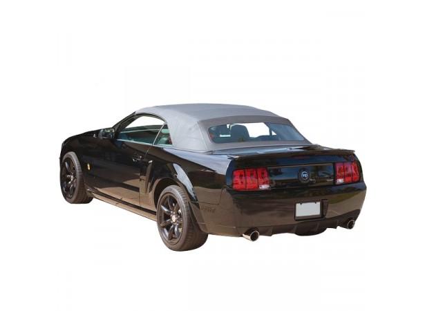 Capote auto Ford Mustang cabriolet en vinyle Sailcloth avec lunette arriere en verre
