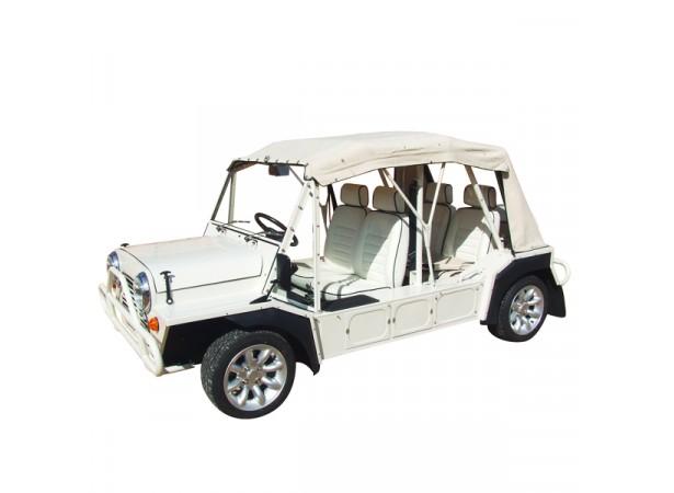 Capote seule Mini Moke Australienne cabriolet en Vinyle Everflex sans lunettes PVC