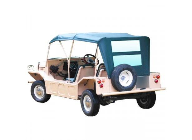 Capotes auto Austin/Morris Mini Moke Anglaise BMC cabriolet en Vinyle Everflex avec lunettes arrieres en PVC