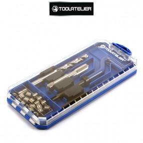 Coffret de réparation de filetages M8 x 1.25 - ToolAtelier®