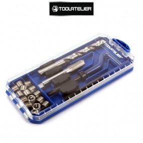 Coffret de réparation de filetages M12 x 1.75 - ToolAtelier®