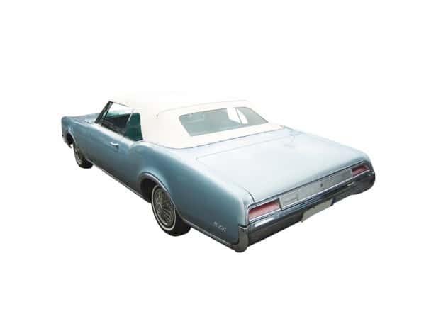 Capote Oldsmobile Delta cabriolet en vinyle