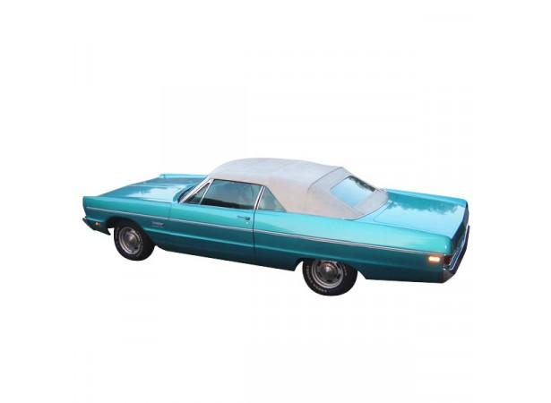 Capote Plymouth Fury cabriolet en vinyle