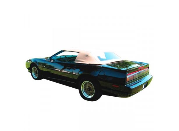 Capote auto Pontiac Firebird cabriolet en vinyle avec lunette arriere en PVC