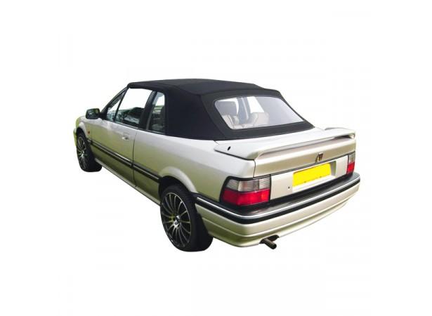 Capote auto Rover 214 cabriolet en Alpaga Twillfast II avec lunette arrière en PVC
