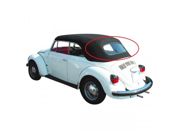 Lunette arrière en verre pour pour capote de Volkswagen Coccinelle 1302/1303 cabriolet