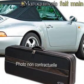 Bagagerie sur mesure cuir pour Porsche 993 cabriolet
