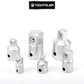 Coffret d'augmentateurs et réducteurs (6 adaptateurs) - ToolAtelier®