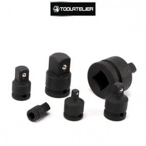 Coffret d'augmentateurs et réducteurs à chocs (6 adaptateurs) - ToolAtelier®