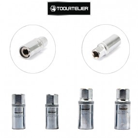 Dégoujonneuses à rouleaux pour extraction goujons et boulons grippés (coffret 4 douilles) - ToolAtelier®