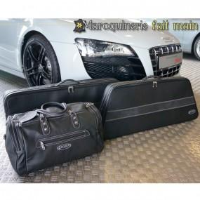 Bagagerie sur-mesure cuir pour Audi R8 coupé