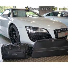 Bagagerie sur-mesure cuir pour Audi R8 Spider