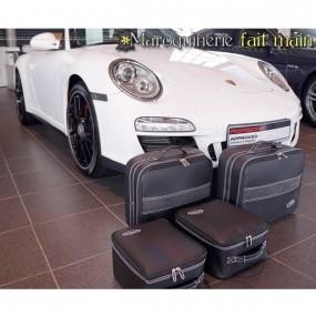 Bagagerie sur mesure-cuir pour Porsche 911 (996/997) cabriolet