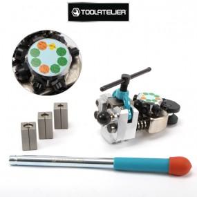 Presse à collet pour tuyaux de freins (évaseur) - ToolAtelier®