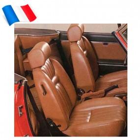 Garnitures de sièges avants Peugeot 504 cabriolet - Made in France