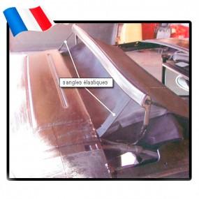 Sangles élastiques d'arceau de capote de Porsche 993 cabriolet - Made in France