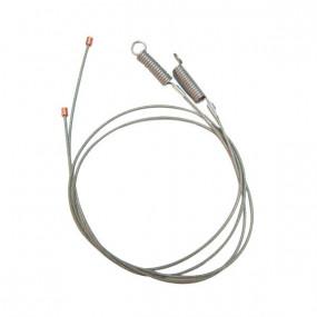 Câbles latéraux de tension pour capote de Mercury Capri cabriolet