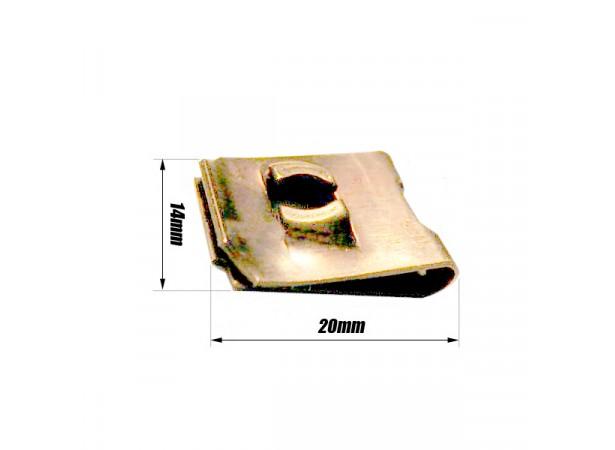 Clip écrou tôle 0.5 à 4mm
