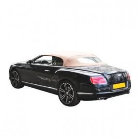 Capote Bentley continental GTC cabriolet en Alpaga Twillfast® RPC