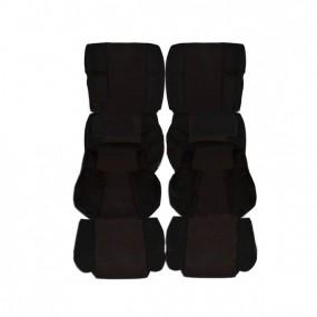 Garnitures siège avant et banquette arrière en tissu biarritz 205 GTI