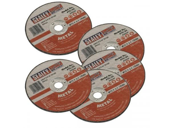 Disques à couper le métal Ø75x 2 mm (lot de 5)